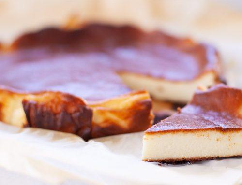 Basque Burnt Easy Cheesecake Recipe