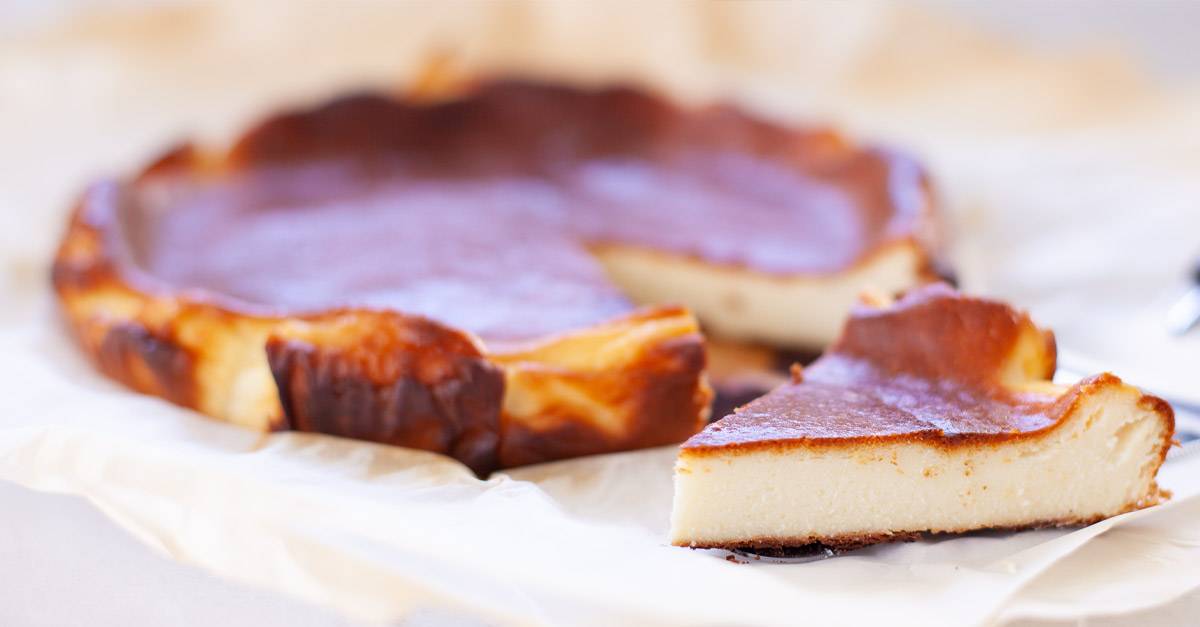 Basque Burnt Easy Cheesecake Recipe