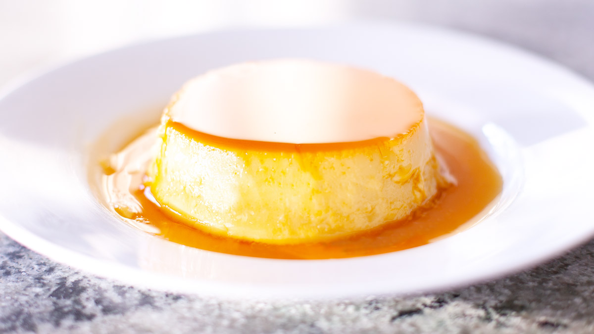 Texas Pinoy Kitchen Leche Flan