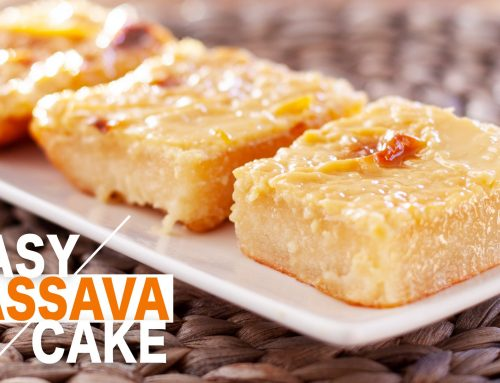 How to Make Easy Cassava cake / Best Cassava Cake Recipe / Filipino Creamy Dessert
